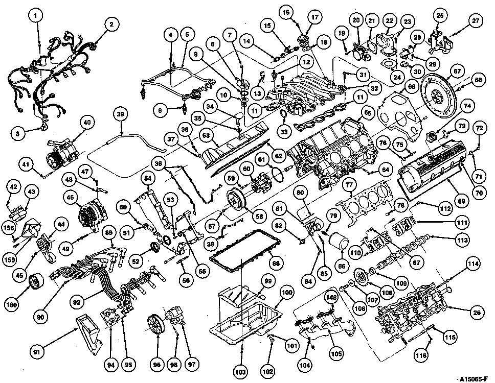 95 ford taurus engine diagram  95  free engine image for